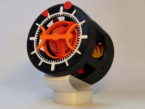3D Printed Clock