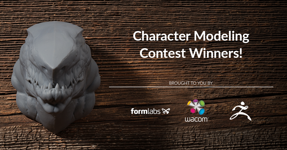 Announcing The Character Design Contest Winners!