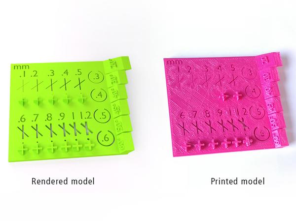 design for 3d printing tolerance test