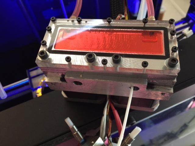 3D Printer Upgrades water block