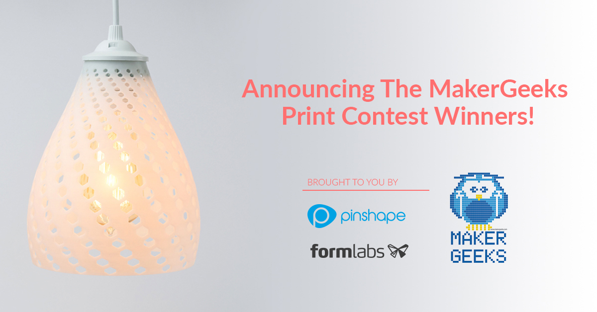 MakerGeeks Print Contest Winners!