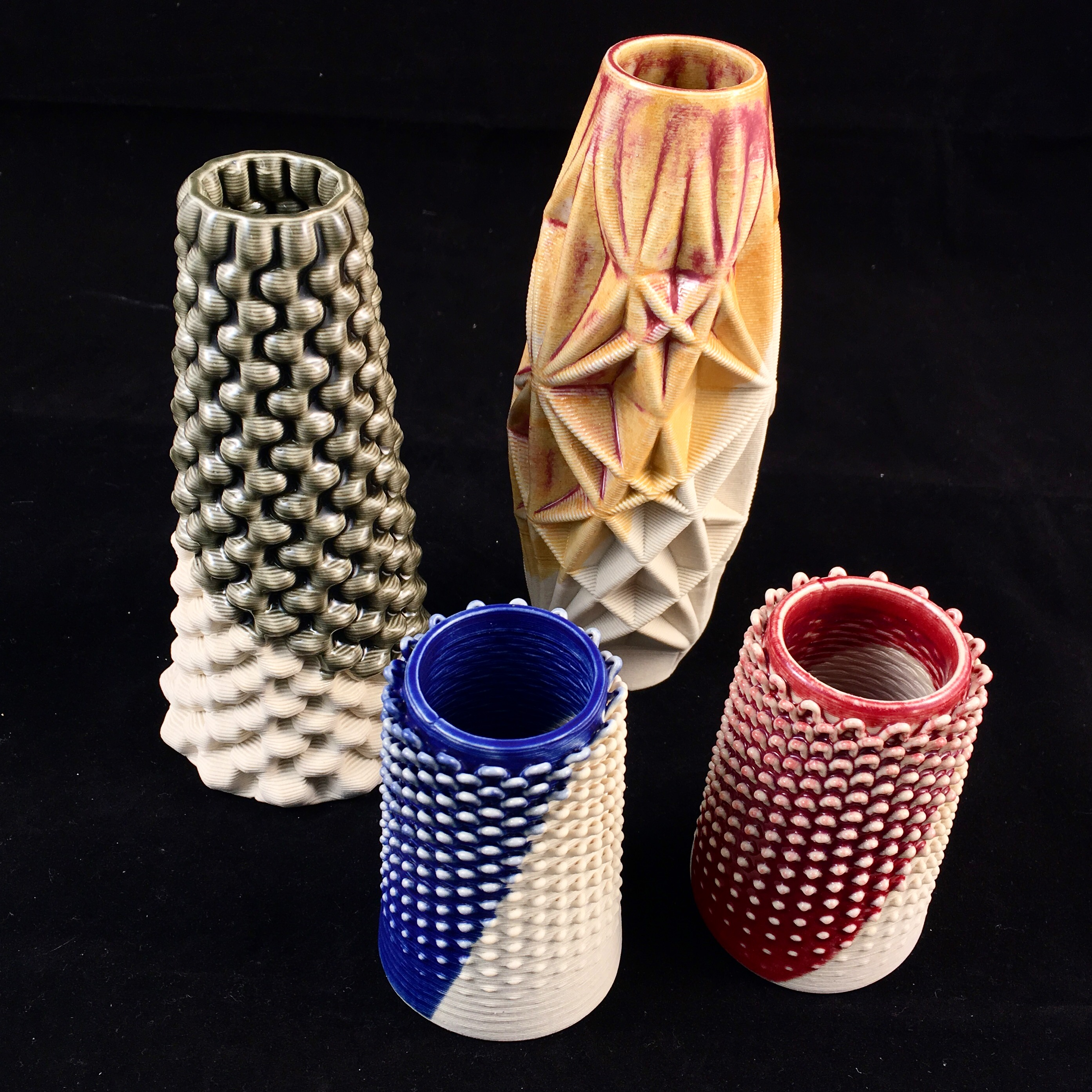 3D Printing in Ceramics prints