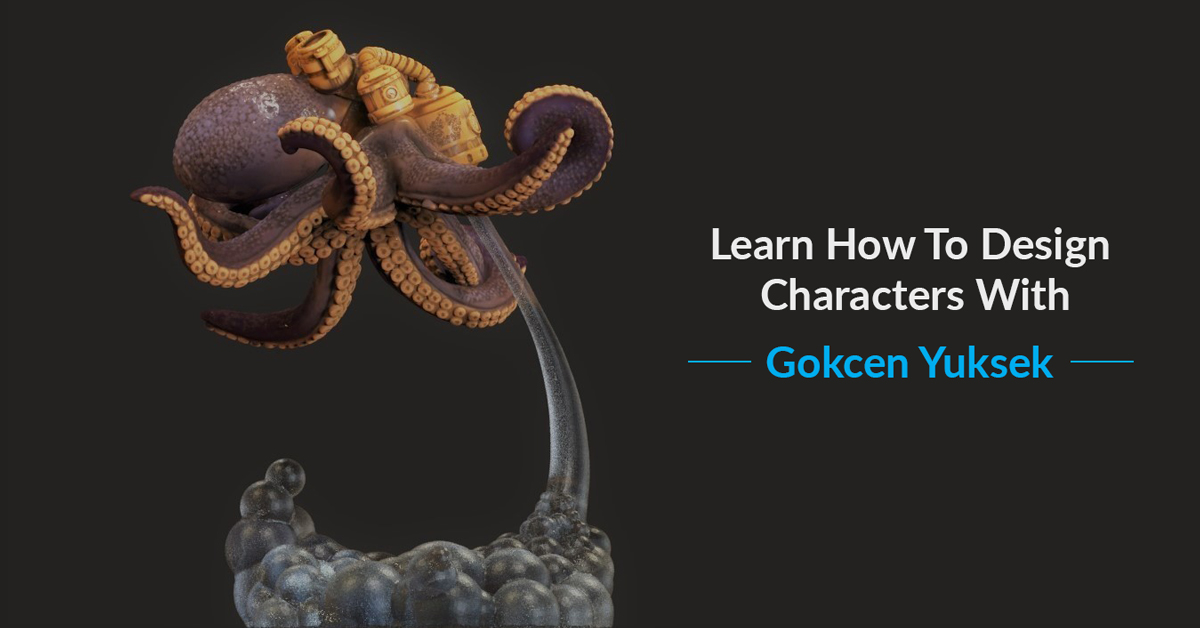 Learn To Design Your Own Characters With Gokcen Yuksek