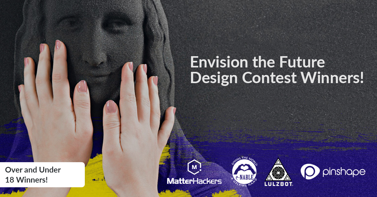Announcing the Envision the Future Design Contest Winners 🎉