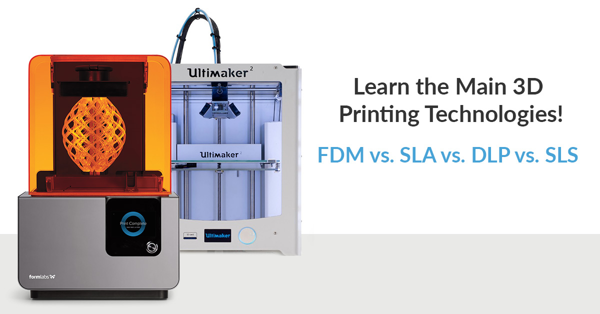 Additive Manufacturing - SLA v FDM