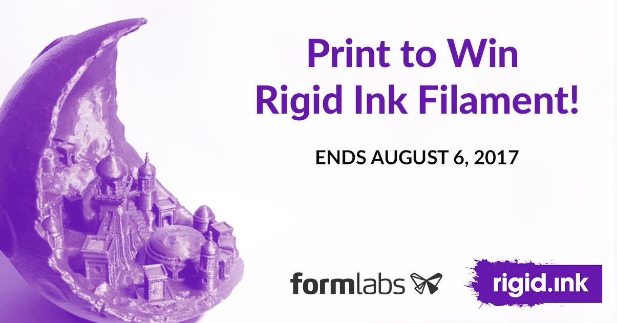 Rigidink contest promo image