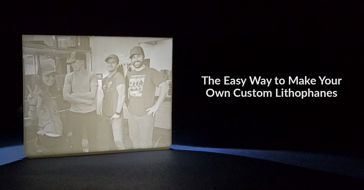 Create Your Own 3D Printed Lithophane in Blender