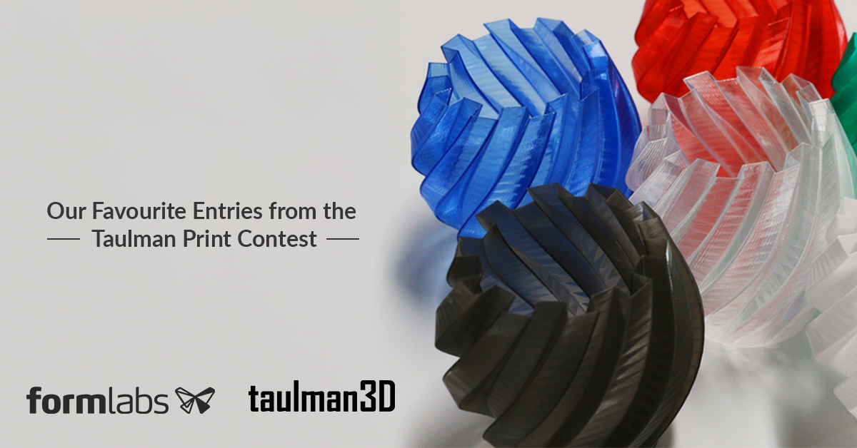Top Entries from the Taulman 3D Print Contest!