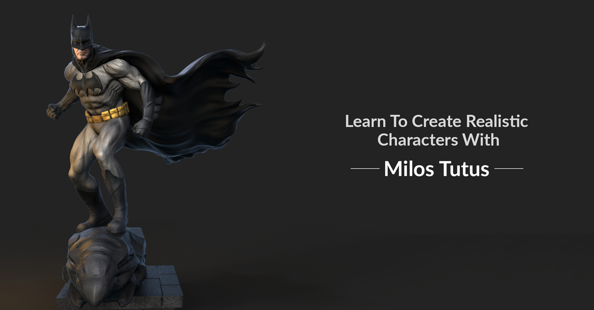 Learn to Create Lifelike Characters in ZBrush with Milos Tutus