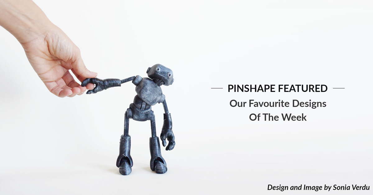 Pinshape Featured Designs – July 14th