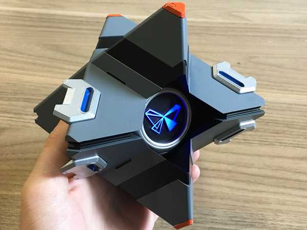 Painting 3D Printed Parts ghost destiny finished