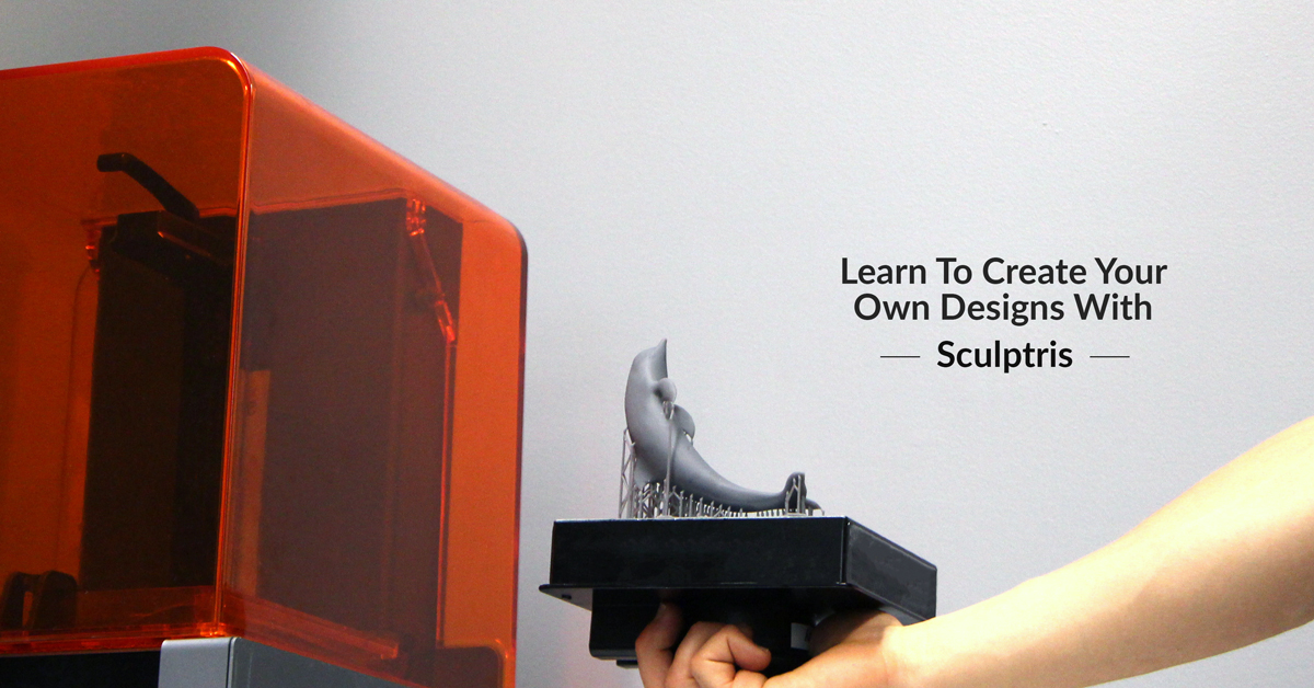 Learn The 3 Steps for Creating Your Own Designs Using Sculptris