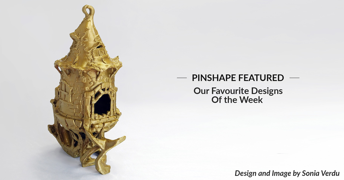 Pinshape Featured Designs – August 18th