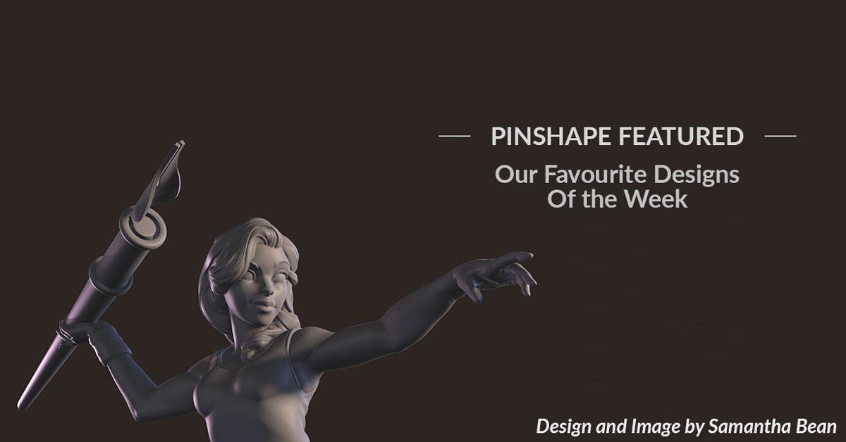 Pinshape Featured Designs – September 8th