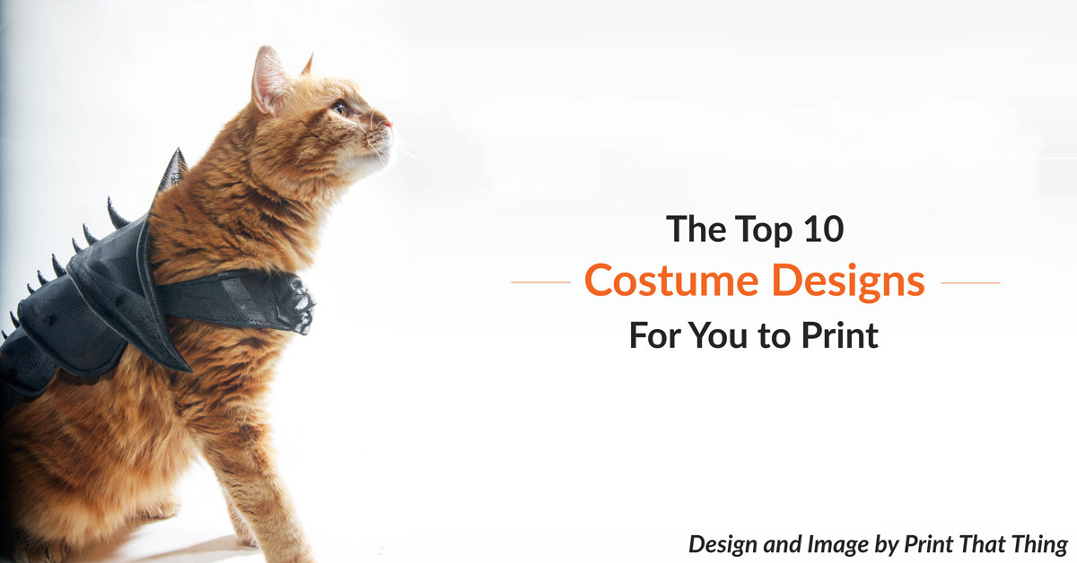 Top 10 Costume Designs That You Can Print Today