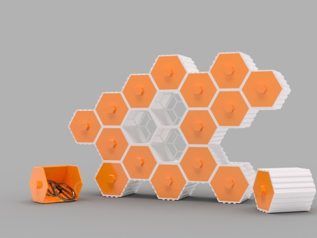 HIVE Stackable Hex Drawers