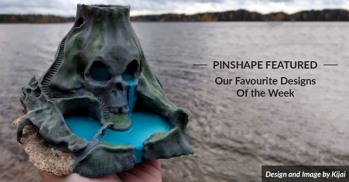 Pinshape Featured Designs – October 20th