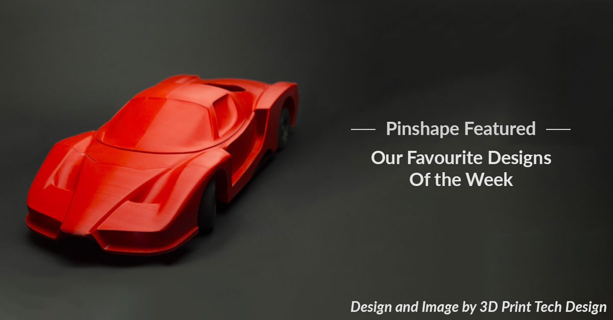 Pinshape Featured Designs – November 17th