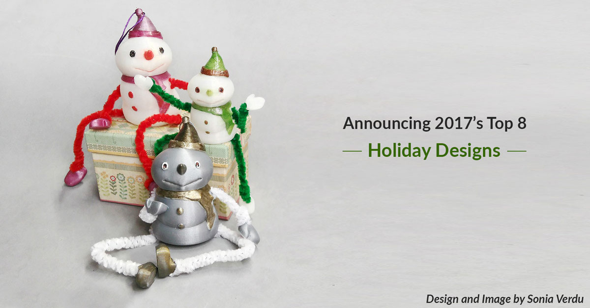 Announcing the Top 8 Winter Holiday Designs of 2017!