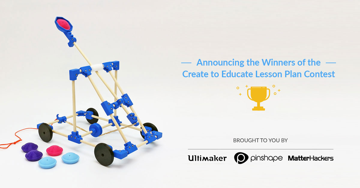 Announcing the Create to Educate Lesson Plan Contest Winners!