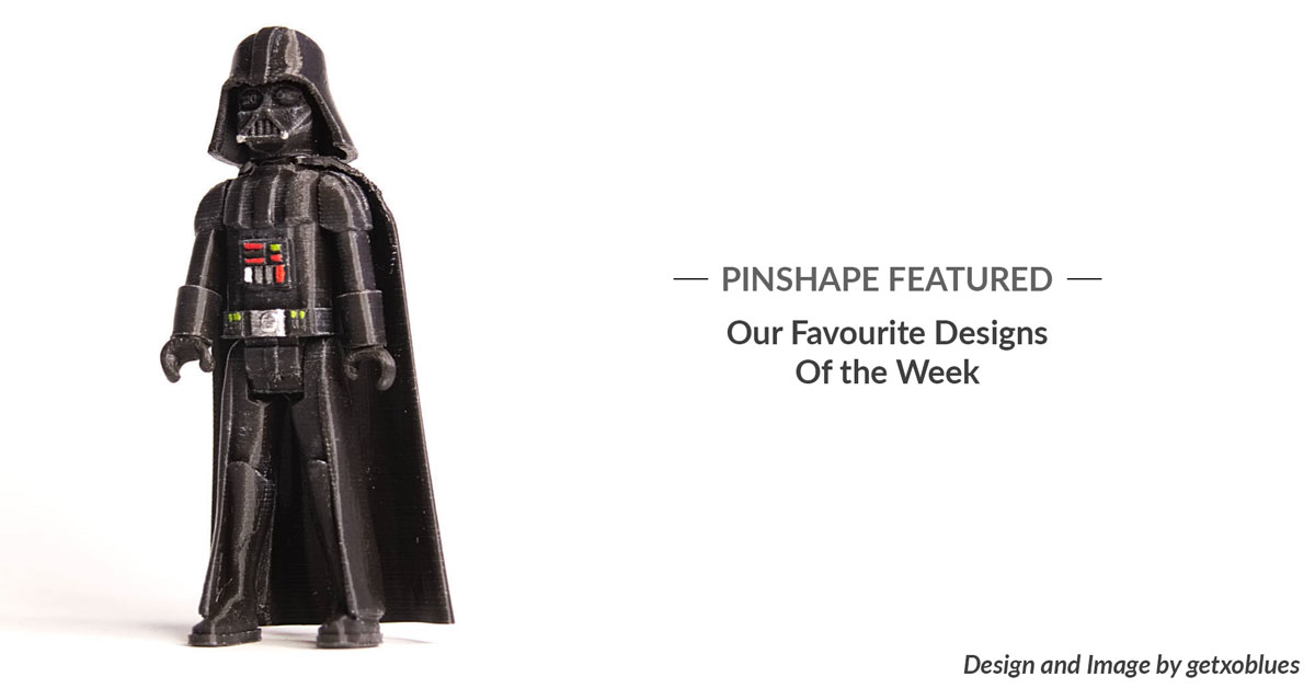 Pinshape Featured Designs – December 22nd