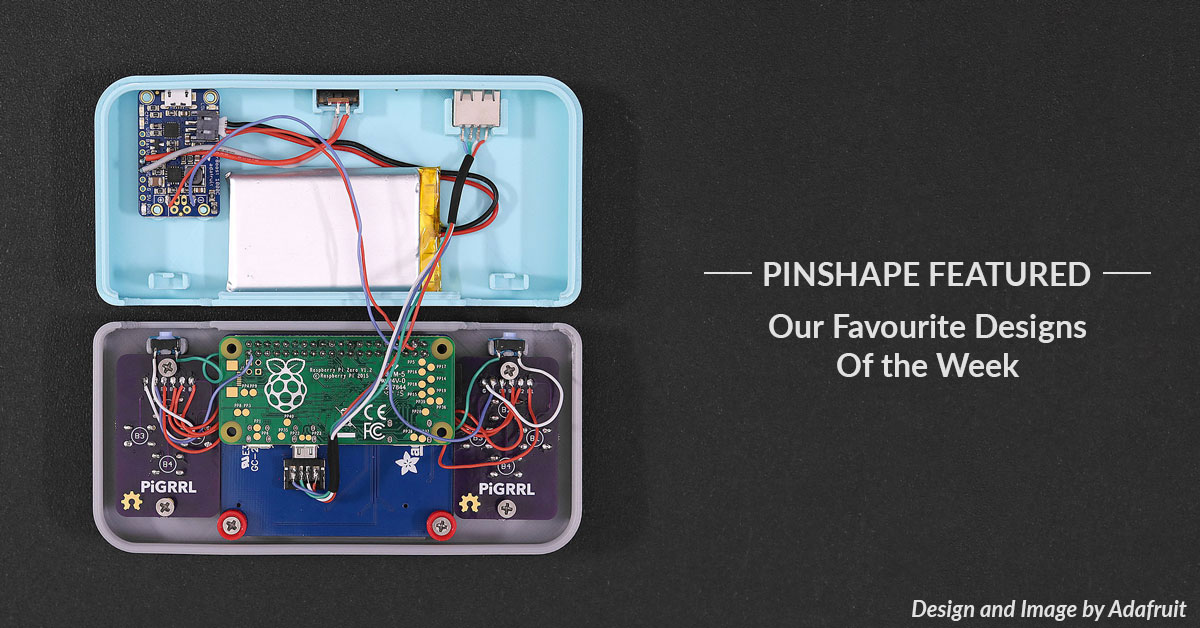 Pinshape Featured Designs – January 19th