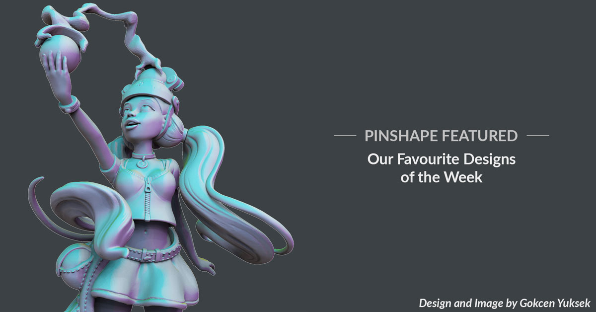 Pinshape Featured Designs – February 2nd