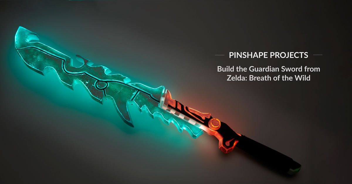 DIY Guardian Sword from Zelda: Breath of the Wild