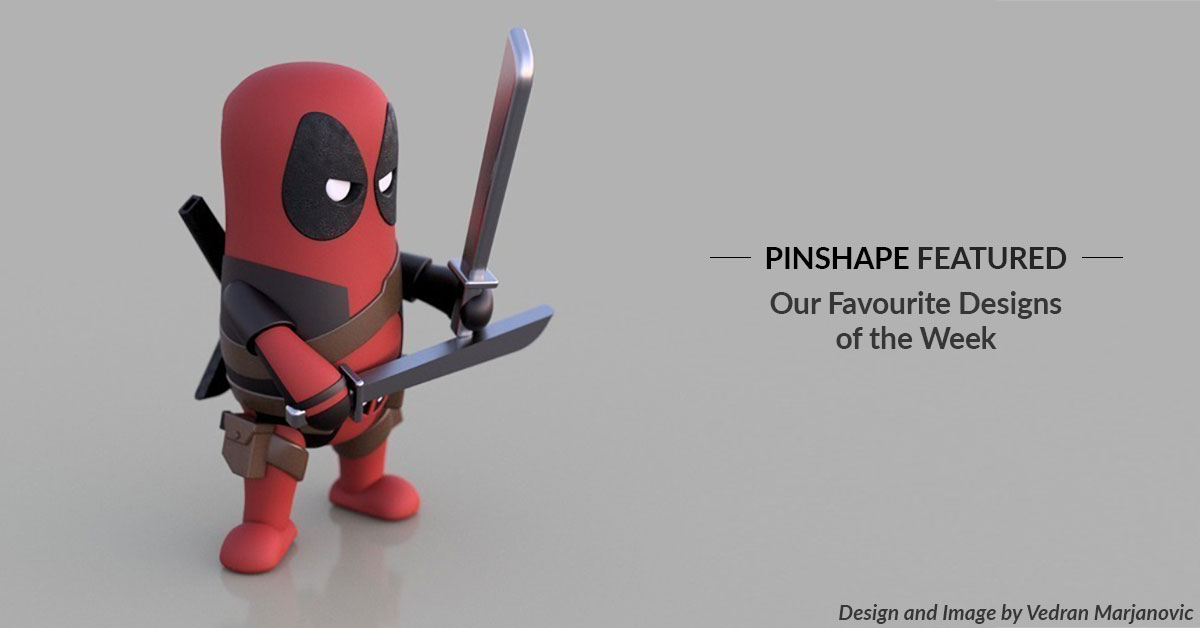 Pinshape Featured Designs – May 25th