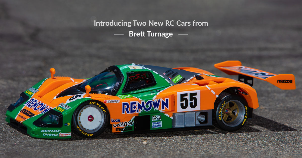 Announcing Two New RC Cars from Brett Turnage – The Mazda 787B and McLaren Mp4/6